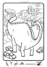 Imprimer le coloriage : Brachiosaure, numéro 671326