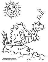 Imprimer le coloriage : Brachiosaure, numéro 6db07216