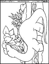Imprimer le coloriage : Diplodocus numéro 237486