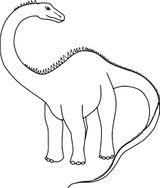 Imprimer le coloriage : Diplodocus, numéro 29c1906