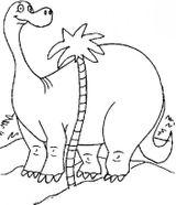 Imprimer le coloriage : Diplodocus numéro 315280