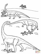 Imprimer le coloriage : Diplodocus, numéro 7b2eab95