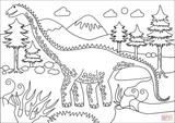 Imprimer le coloriage : Diplodocus, numéro 82799f50