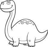 Imprimer le coloriage : Diplodocus, numéro a1b959d7