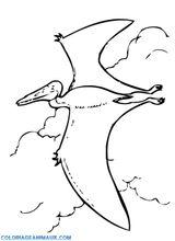 Imprimer le coloriage : Pterodactyle, numéro 220313