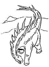 Imprimer le coloriage : Pterodactyle, numéro 289848