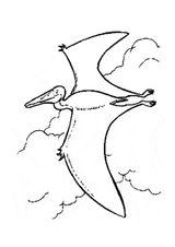 Imprimer le coloriage : Pterodactyle, numéro 386963