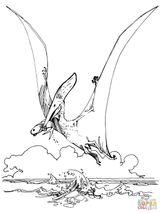 Imprimer le coloriage : Pterodactyle, numéro 49dc0d4e