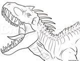 Imprimer le coloriage : T-rex, numéro 1efaf203