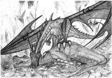 Imprimer le coloriage : T-rex, numéro 671294