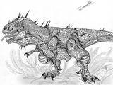 Imprimer le coloriage : T-rex, numéro 758618