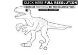 Imprimer le coloriage : T-rex, numéro 758619
