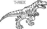 Imprimer le coloriage : T-rex, numéro ba7590ae