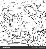 Imprimer le coloriage : Triceratops, numéro 1137ecab