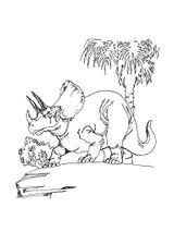 Imprimer le coloriage : Triceratops, numéro 220161