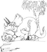 Imprimer le coloriage : Triceratops, numéro 297613