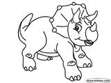 Imprimer le coloriage : Triceratops, numéro 354645