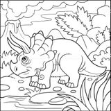 Imprimer le coloriage : Triceratops, numéro 81cc25e3