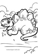 Imprimer le coloriage : Dinosaures, numéro bca9a86