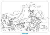 Imprimer le coloriage : Dinosaures, numéro d9c62d5c