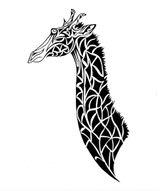 Imprimer le coloriage : Girafe, numéro 3fd16d21