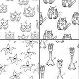 Imprimer le coloriage : Girafe, numéro 6104c1f0