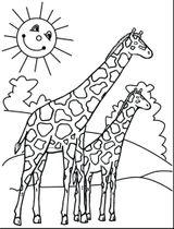 Imprimer le coloriage : Girafe, numéro 6f018868