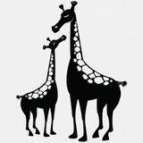Imprimer le coloriage : Girafe, numéro 754233