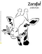 Imprimer le coloriage : Girafe, numéro 933894c8