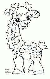 Imprimer le coloriage : Girafe, numéro a26af2b9