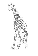Imprimer le coloriage : Girafe, numéro bb65c22f