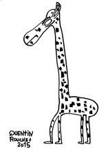 Imprimer le coloriage : Girafe, numéro ea02f0ac