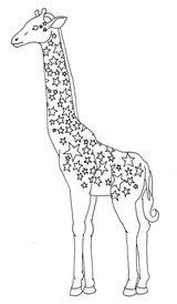 Imprimer le coloriage : Girafe, numéro f63874f7