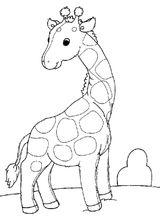 Imprimer le coloriage : Girafe, numéro fc678c8e
