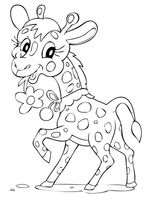 Imprimer le coloriage : Girafe, numéro fca21a8c