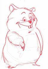 Imprimer le dessin en couleurs : Hamster, numéro 21081