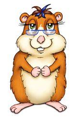 Imprimer le dessin en couleurs : Hamster, numéro 21082