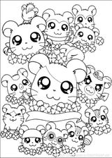 Imprimer le coloriage : Hamster, numéro 53949