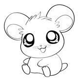 Imprimer le coloriage : Hamster, numéro 672797