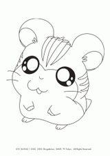 Imprimer le coloriage : Hamster, numéro 6ad8ae2f