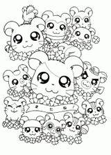 Imprimer le coloriage : Hamster, numéro b0ad3a53