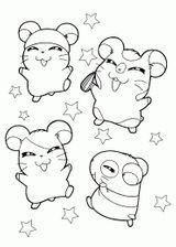 Imprimer le coloriage : Hamster, numéro c6b36134
