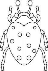 Imprimer le coloriage : Insectes, numéro 195817