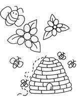 Imprimer le coloriage : Insectes, numéro 354620a5