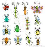 Imprimer le dessin en couleurs : Insectes, numéro 361171
