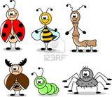 Imprimer le dessin en couleurs : Insectes, numéro 73926