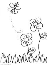 Imprimer le coloriage : Abeille, numéro 3d9c0acf