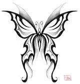 Imprimer le coloriage : Papillon, numéro 24062