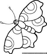 Imprimer le coloriage : Papillon, numéro 25860
