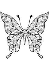Imprimer le coloriage : Papillon, numéro 63273ac4